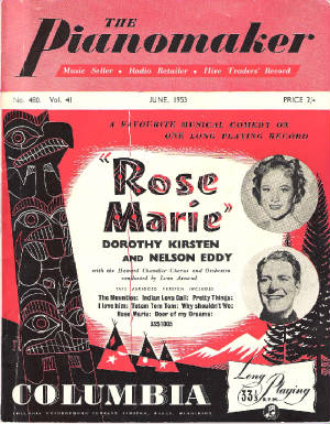 The Pianomaker - No.480 Vol.41 June 1953